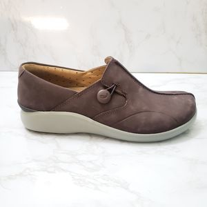 Unstructured by Clarks Leather Shoes Size 8